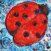 First Lady Bug By Schulmanart Poster
