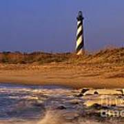 First Light At Cape Hatteras - Fs000257 Poster