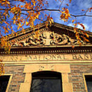 First National Bank Poster