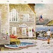 Fish Beach II Log#1517 Poster