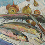 Fish Soup Poster by Juliya Zhukova