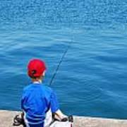 Fishin' Poster