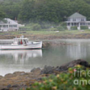 Fishing Boat Kennebunkport Maine Poster