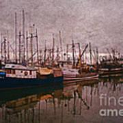 Fishing Boats Of Steveston-ca Poster