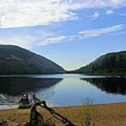 Fishing Conkle Lake Poster
