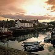 Fishing Village In Ireland Poster