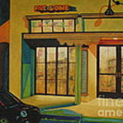 Five And Dime Poster by Vikki Wicks