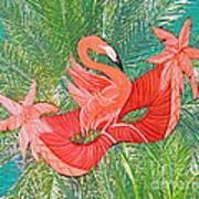 Flamingo Mask 8 Poster
