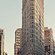 Flat Iron Building Poster by Benjamin Matthijs
