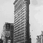 Flatiron Building Bw16 Poster