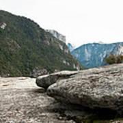Flattop Rock Yosemite Poster