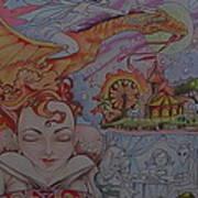 Flight Of Fancy Poster by Jackie Rock