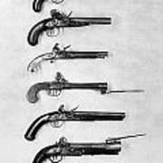 Flintlock Pistols Poster