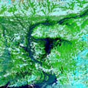 Flooding In Bangladesh Poster