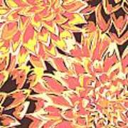 Floral Abstraction 18 Poster