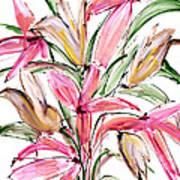 Floral Fourteen Poster