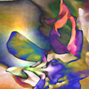 Floral Intimacy Poster