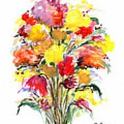 Floral Seven Poster