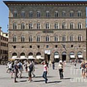 Florence Piazza Della Signoria Poster