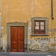 Florence Streetscape Poster