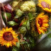 Flower - Sunflower - Gardeners Toolbox  Poster