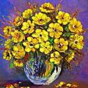 Flower Are Yellow Poster