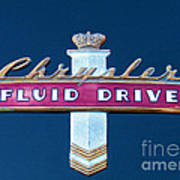 Fluid Drive Poster