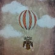 Fly Poster by Salwa  Najm