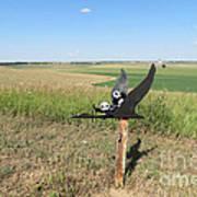 Flying Baby Pandas. North Dakota. Poster
