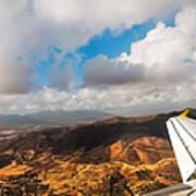 Flying Over Spanish Land IIi Poster