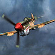 Flying Tiger P-40 Warhawk Poster