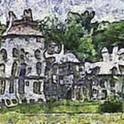 Fonthill Castle Poster