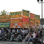 Food Selection In Sturgis Poster