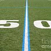 Football Field Fifty Poster