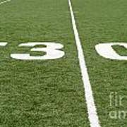 Football Field Thirty Poster