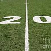 Football Field Twenty Poster
