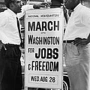 For Bayard Rustin 1912-1987, Here Poster by Everett