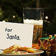 For Santa. Poster