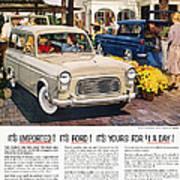 Ford Avertisement, 1959 Poster