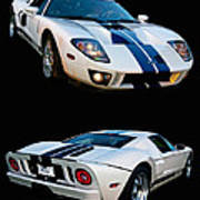 Ford Gt Twins Poster