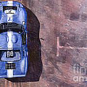 Ford Gt40 Leman Classic Poster