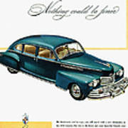 Ford Lincoln Ad, 1946 Poster