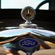 Ford Model T Hood Ornament Poster