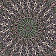 Forest Mandala 2 Poster