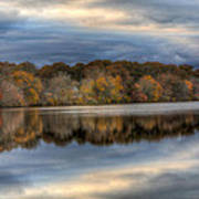 Forge River In Fall Poster