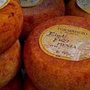 Formaggio Cheese Of Italy Poster by Roger Mullenhour