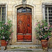 Formal Entrance Provence France  Poster