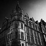 Former Prudential Assurance Building St Andrew Square Edinburgh Scotland Uk United Kingdom Poster