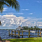 Fort Myers Dock Poster