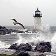 Fort Pickering Lighthouse Salem Ma Poster